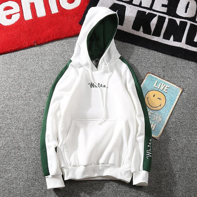 Hoodies for Men - White / M