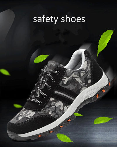 Steel-Toe Safety Shoes -