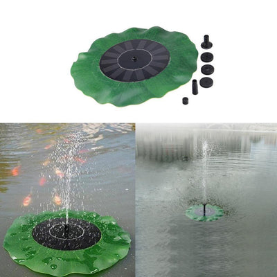 Solar Powered Fountain Pump