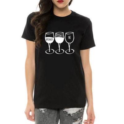 Goblet Printed Women T-Shirt -