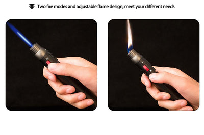 Jet Flame Butane Refillable Multi-Purpose Lighter -