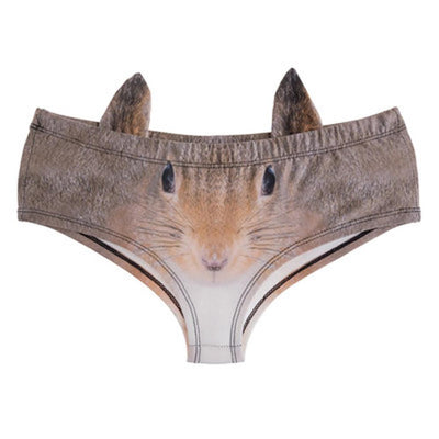 3D Animal Ear Panties - D