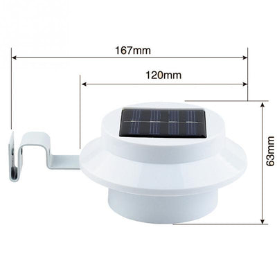 Outdoor Solar Powered LED Lamp -