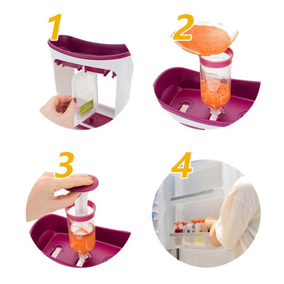 Baby Food Squeeze Station -