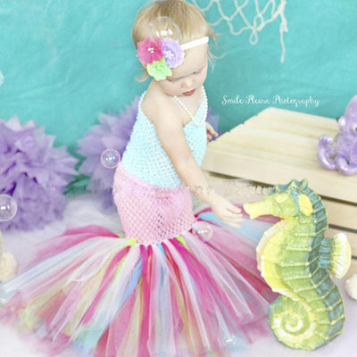 Strapless Mermaid Tutu Dress -