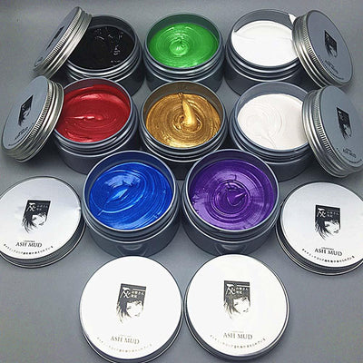 Temporary Color Hair Wax -