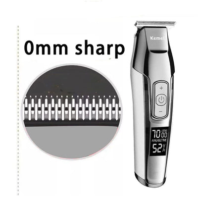 LCD Display Hair Trimmer -