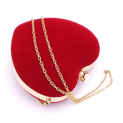Heart Shaped Evening Bags -