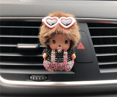 Monkey Girl Car Freshener -
