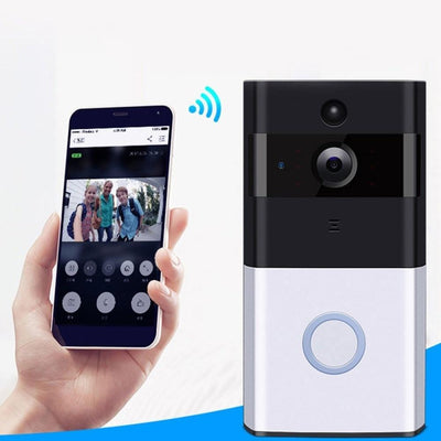 Home Security Wireless HD Night Vision and Motion Detection Doorbell -