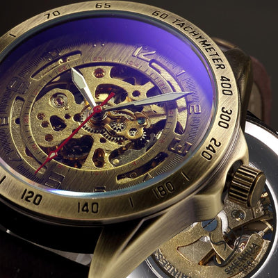 Steampunk Skeleton Watch -