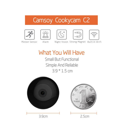 HD 1080P Smart Mini IP Camera -