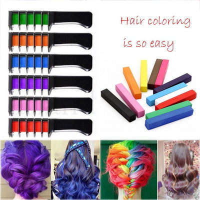 Colorful Hair Dye Comb -