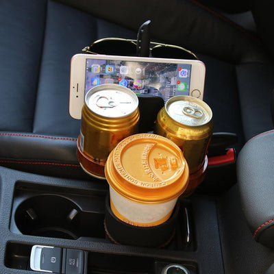 Multi-function Car Drink Cup Holder Organizer