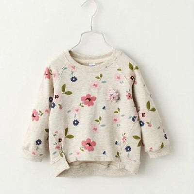 Fresh Flowers Sweatshirt -