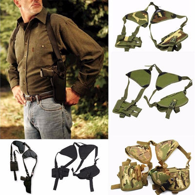 Tactical Shoulder Holster - Black