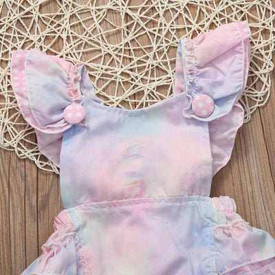 Cotton Candy Romper Dress -