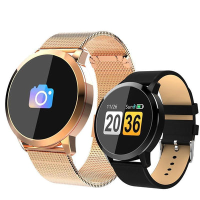 Q8 Round Smart Band Watch -