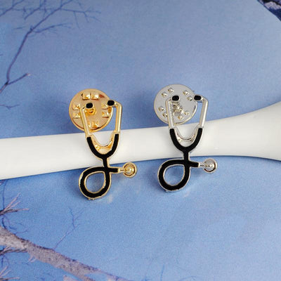 Stethoscope Brooch Pins -