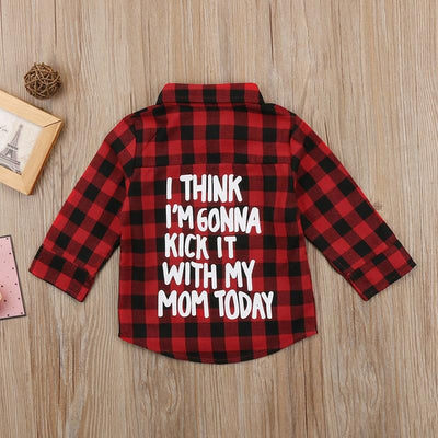 Statement Plaid Longsleeves -