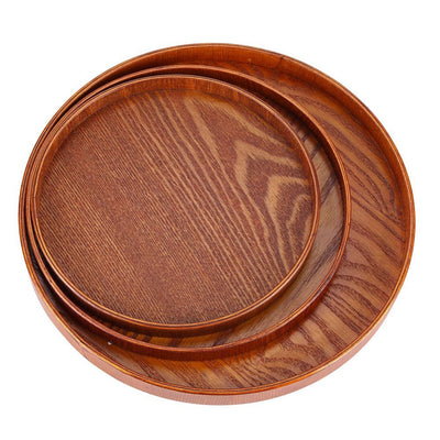 wood serving tray -