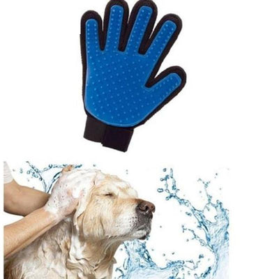 Pet Deshedding Brush Glove -