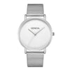 Stainless Steel Quartz Wrist Watch -