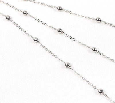 Triple Layered Chain Necklace -