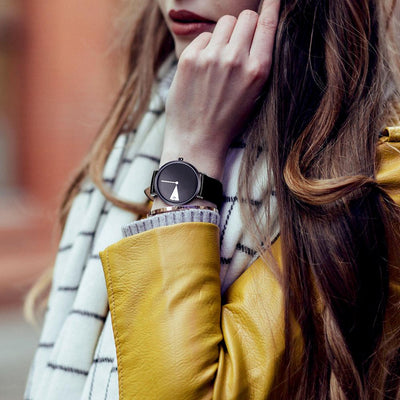 Leather Band Wristwatches -