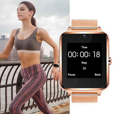 LED Touch Screen Bluetooth Smart Watch -