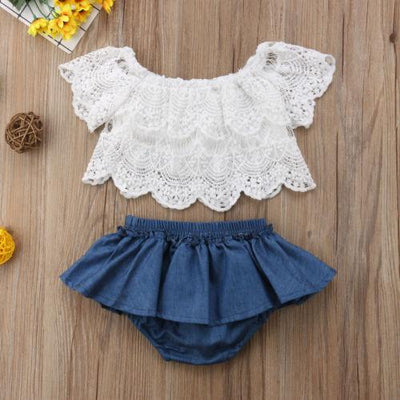 Summer Denim Set -