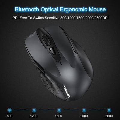 6 Button Bluetooth Mouse -