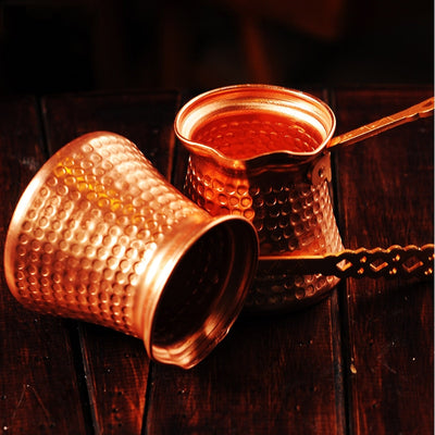 turkish copper coffee mugs -