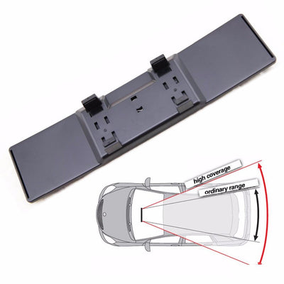 Widened Rearview Mirror -