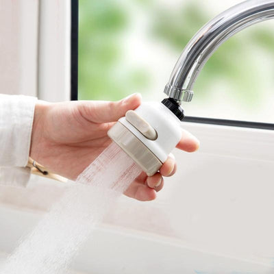 Moveable Water Saving Tap Head -
