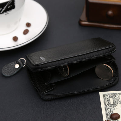 Slim Leather Wallet Purse -