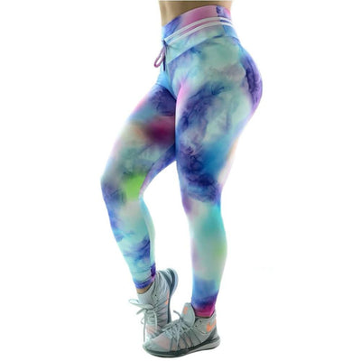 Candy Color Push Up Leggings -