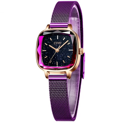 Watches for Women - mesh purple