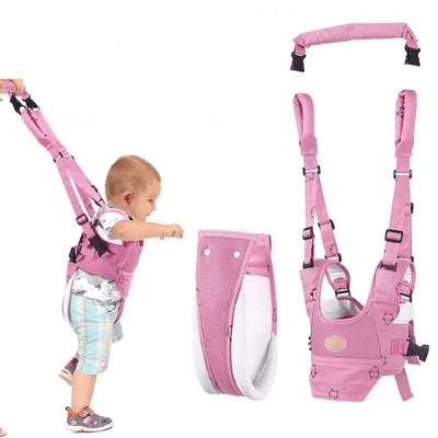 Baby Walker Harness - Pink