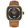 Leather Watch - 9030-GB-RE-T brown gold