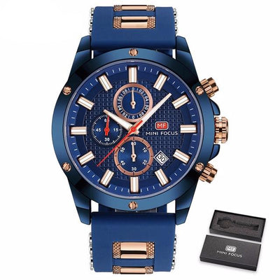 Focus Wrist Watch for Men - Navy