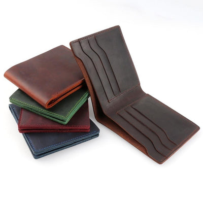 Vintage Leather Wallet -
