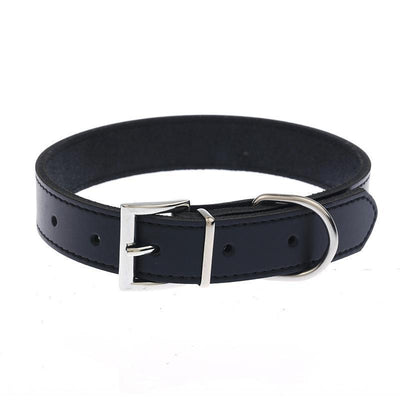 Classic Leather Dog Collar -