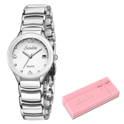 Watches for women - Silver white