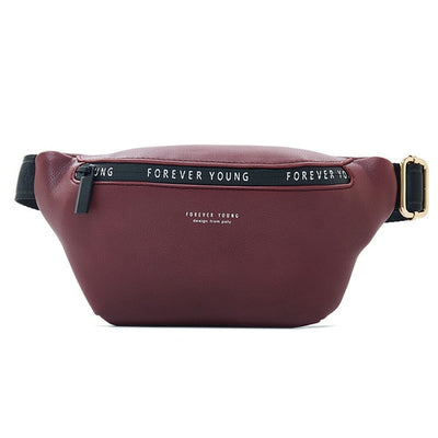 Women Fanny Pack - Burgundy