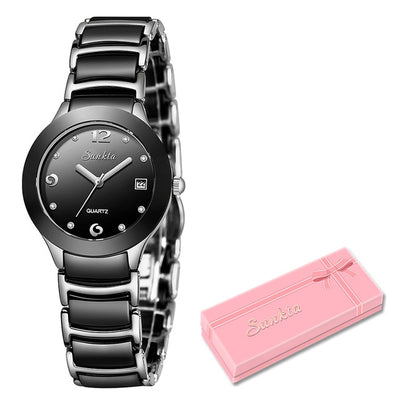 Watches for women - Silver black