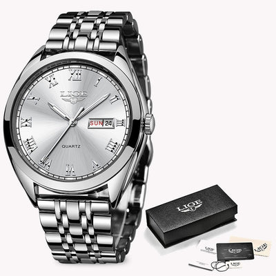 Women Watches - Silver White