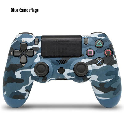 Wireless Game Controller - Blue camouflage