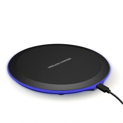 10W Fast Wireless Charger Pad - 5W Black