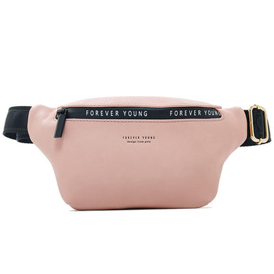 Women Fanny Pack - Soft Pink